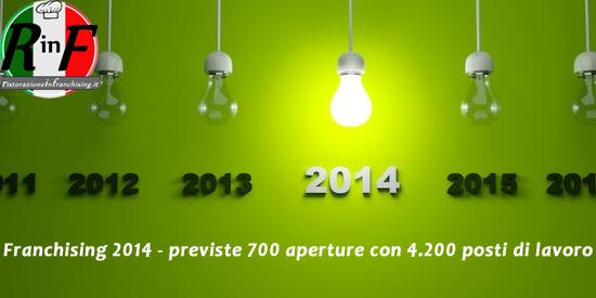 Franchising 2014 previste 700 aperture con 4200 posti di lavoro